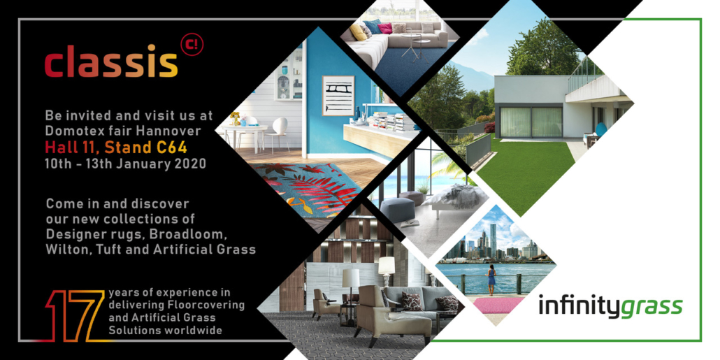 Classis Domotex Invitation 2020