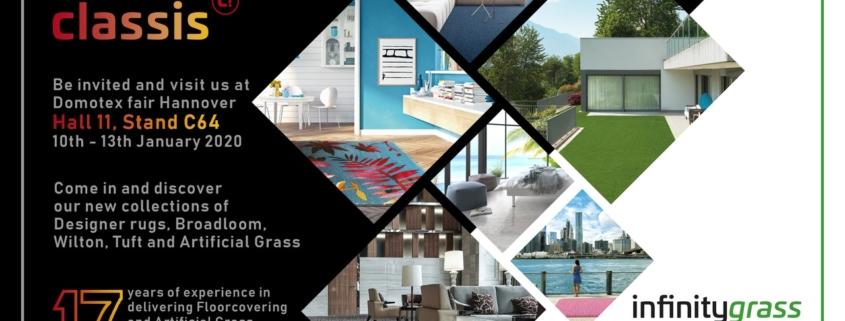 Classis Domotex Invitation 2020 1280x630